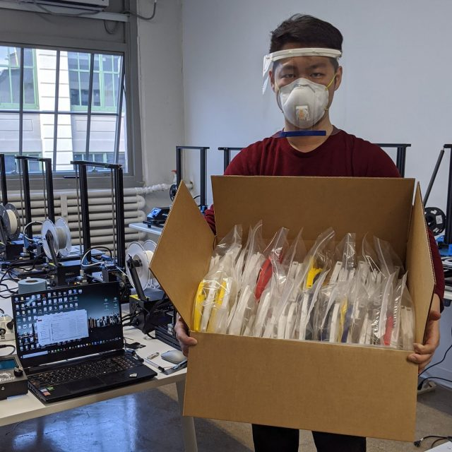 Meet iMakr, the Brooklyn 3D-printer that's made 5,000 face shields for NYC's healthcare workers