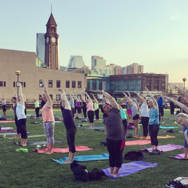 Hoboken will allow gyms to use parks and fields for outdoor workout classes
