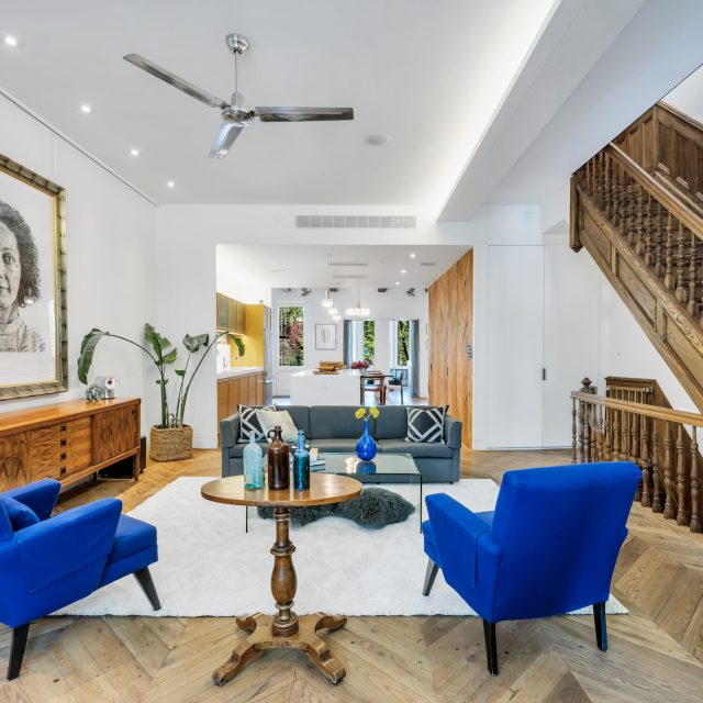 Two-family Prospect Heights townhouse has outdoor space and an array of fun woodwork for $3.5M