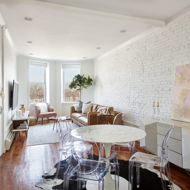 Crown Heights condo is a calming two-bedroom home for under $1M