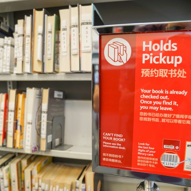NYC public libraries reopen 22 branches for grab-and-go service