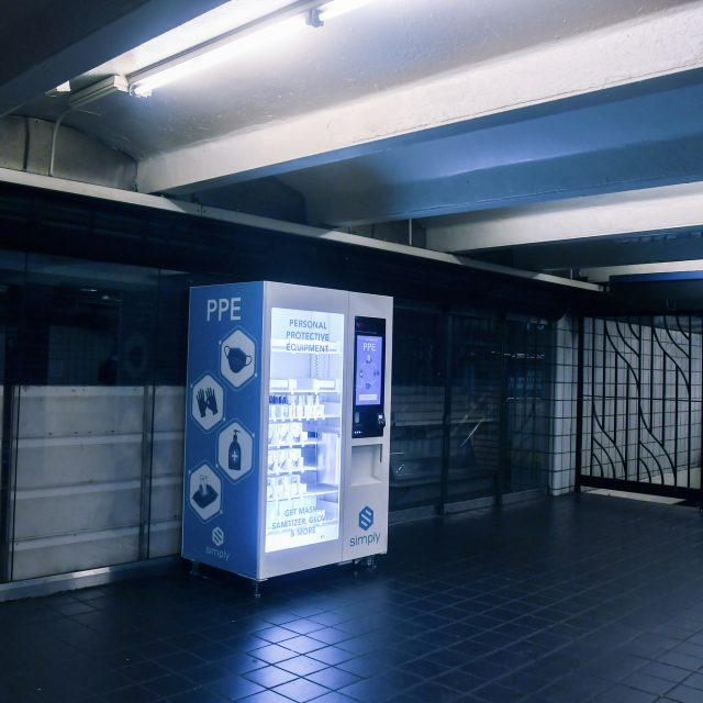 Check out the PPE vending machines that just arrived in NYC subway stations
