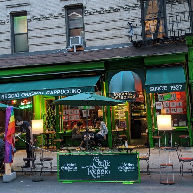 Starting this weekend, 22 open streets in NYC will be dedicated to outdoor dining