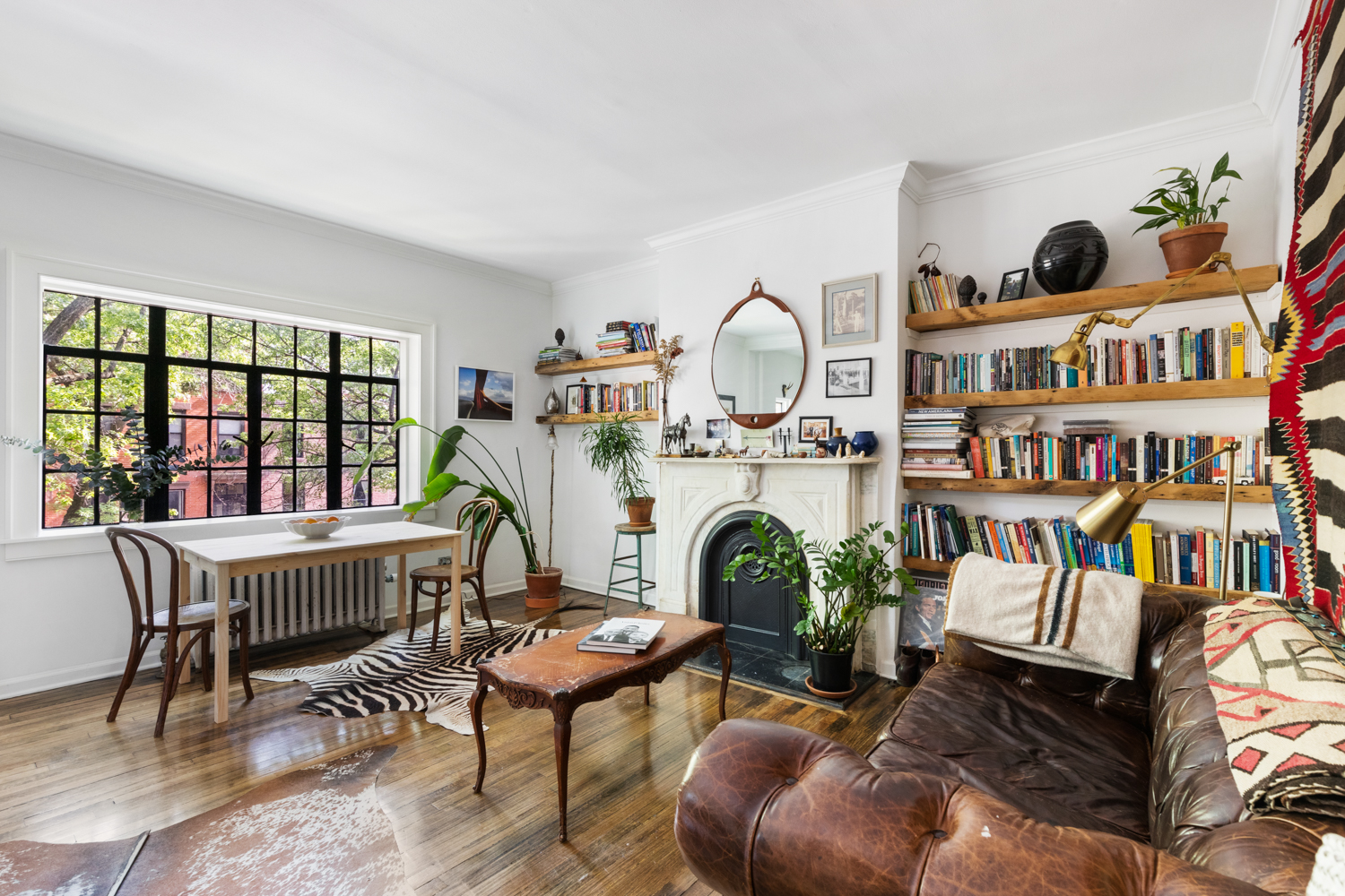 2020 Fort Greene Halloween $999K Fort Greene co op is super stylish with room to spare | 6sqft