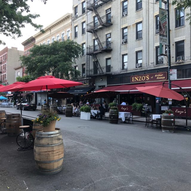 Bronx Little Italy sets up 'Piazza di Belmont' for outdoor dining on Arthur Avenue