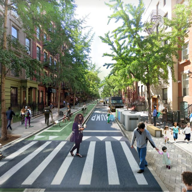 Here's what a car-free, pedestrian-friendly NYC could look like