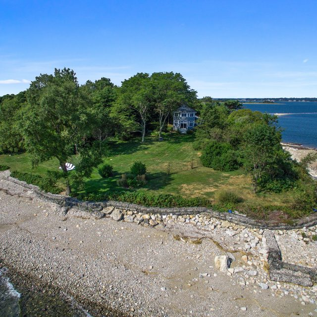 Six-acre private island in Connecticut with a charming cottage asks $2.5M