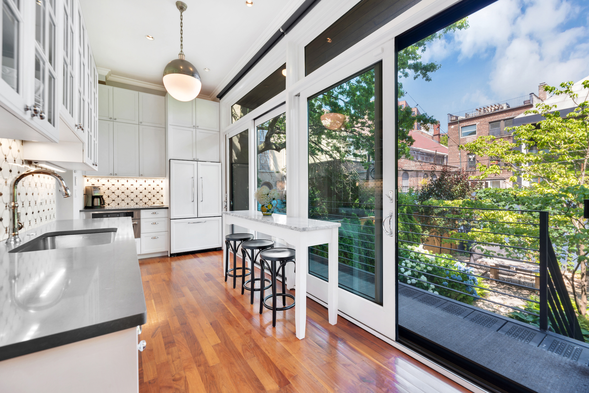 2020 Fort Greene Halloween $5M Fort Greene townhouse has three rental apartments and a