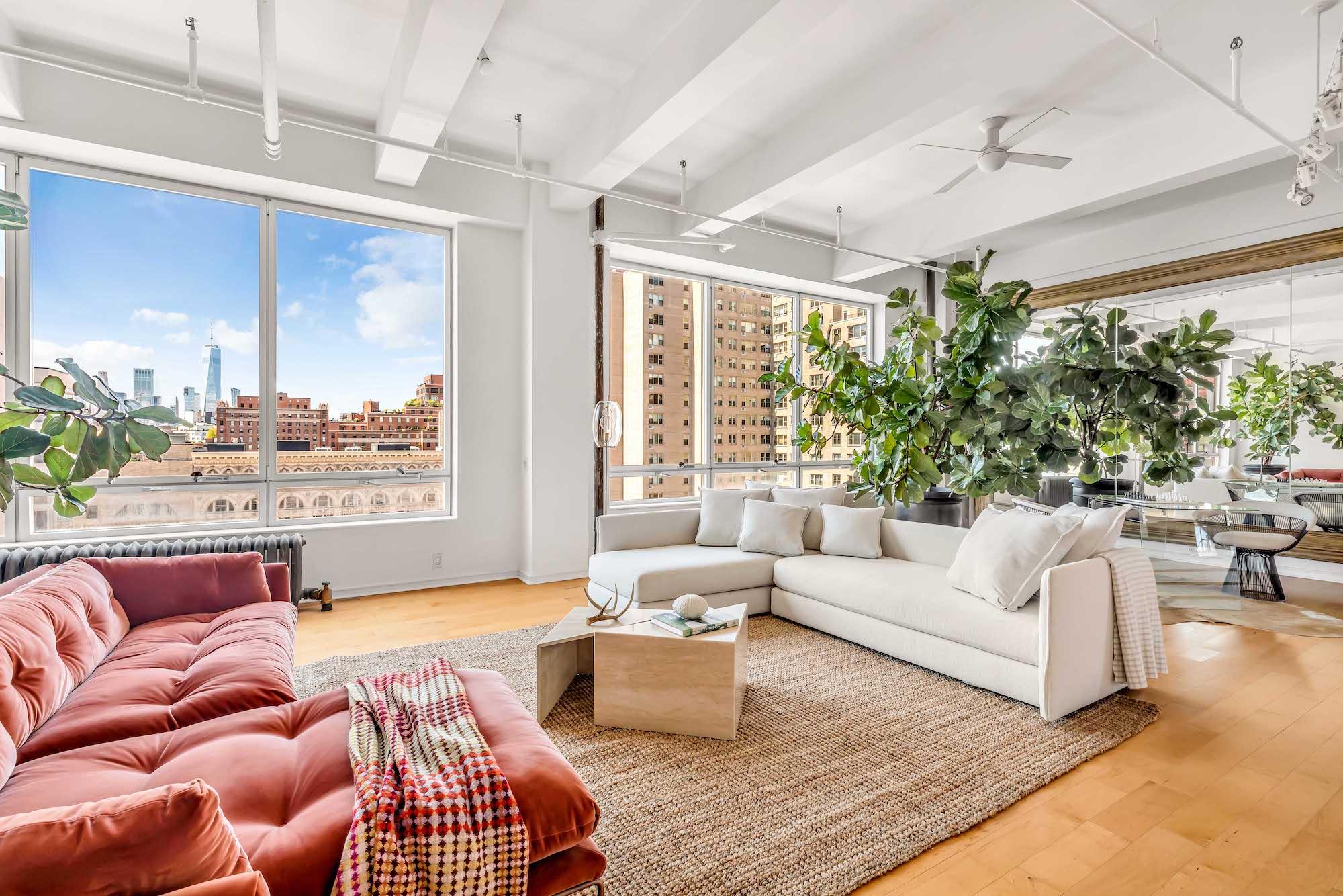 Susan Sarandon lists massive Chelsea duplex for $7.9M | 6sqft