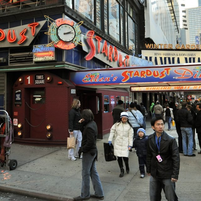 After almost closing, famous Theater District tourist spot Ellen's Stardust Diner will reopen tomorrow