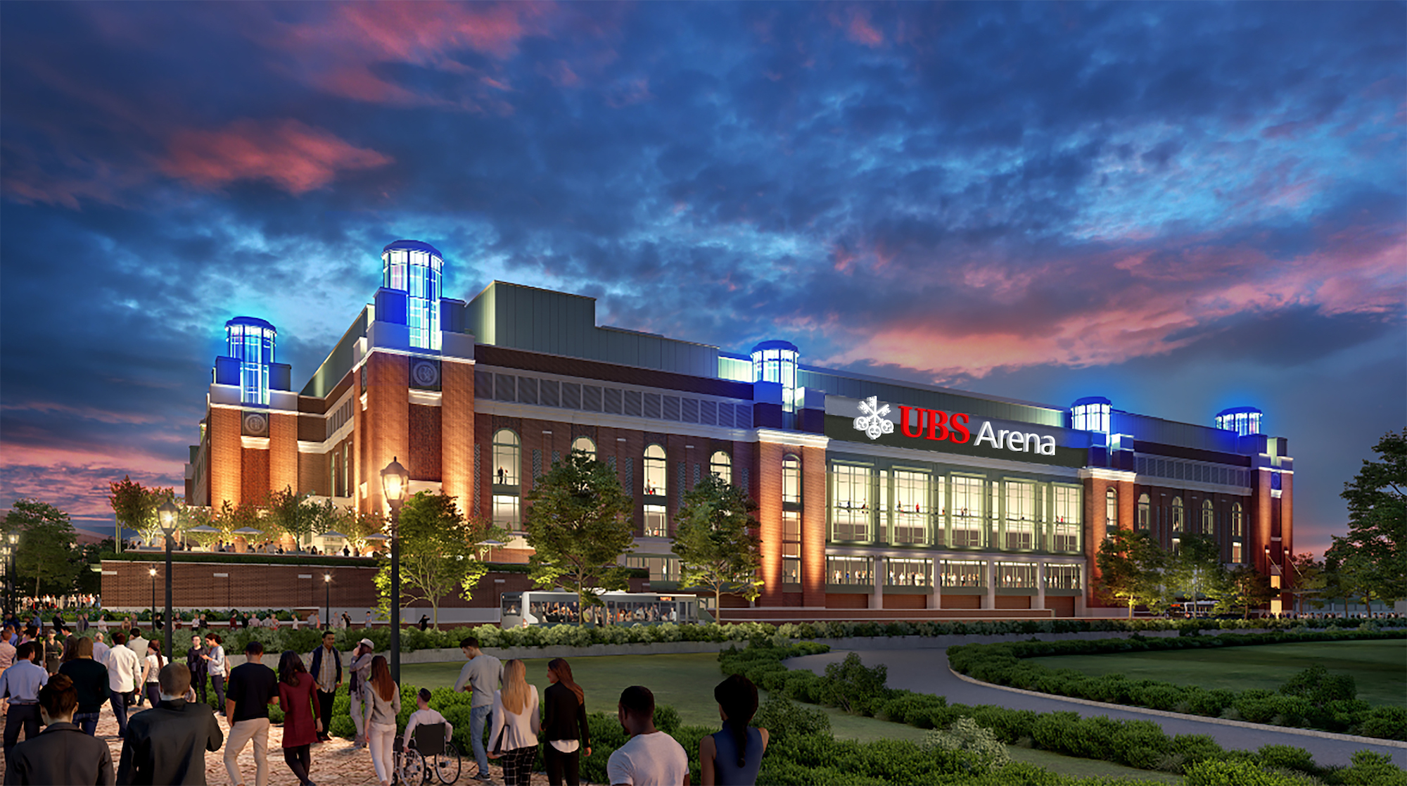 New Looks And Name For Islanders Home Venue Ubs Arena At Belmont Park 6sqft