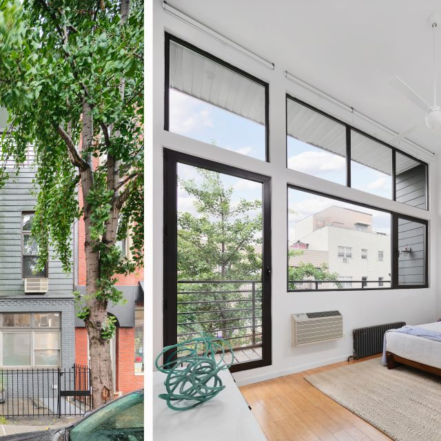 For $3M, this Williamsburg townhouse was designed as an airy artist's home