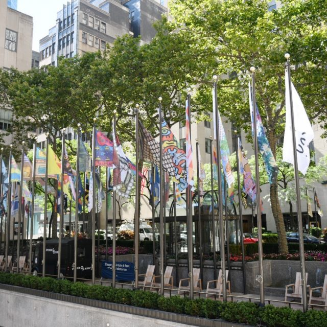 See the 193 new Rockefeller Center flags designed by the public