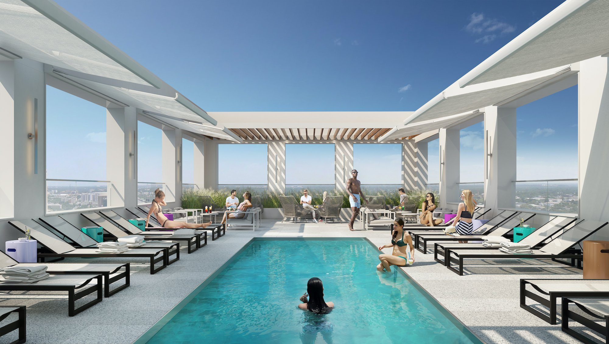 New downtown Jersey City rental will have a 'Miami-inspired resort ...