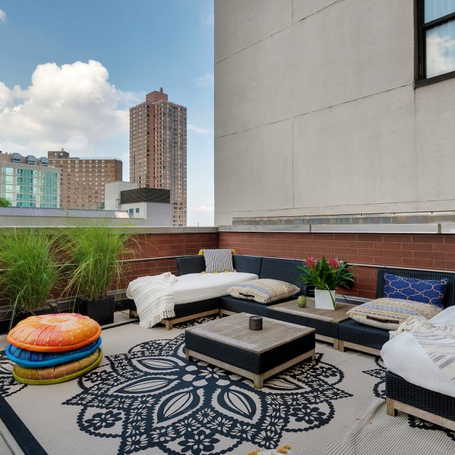 $695K Upper East Side one-bedroom has a terrace twice as large as the apartment