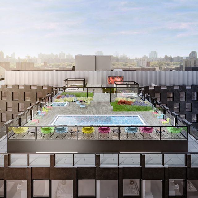 New looks for Bjarke Ingels-designed East Harlem rental, The Smile