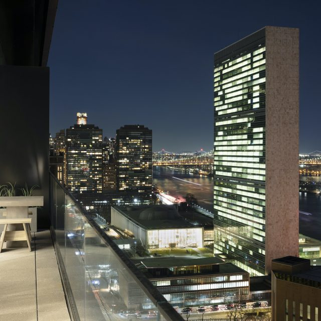 This $8M penthouse near the UN has some killer views