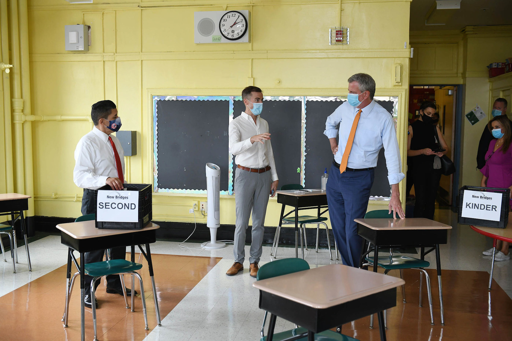 NYC students, teachers back in class 2 weeks before testing starts