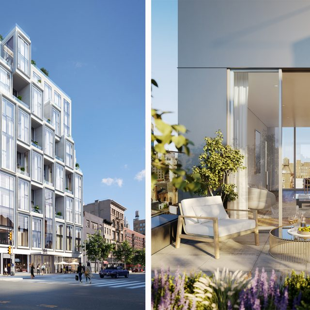 ODA Architects bring their signature boxy aesthetic to new 14th Street condo