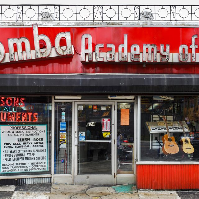 Help save the historic neon sign at the Bronx's 64-year-old Palomba Academy of Music