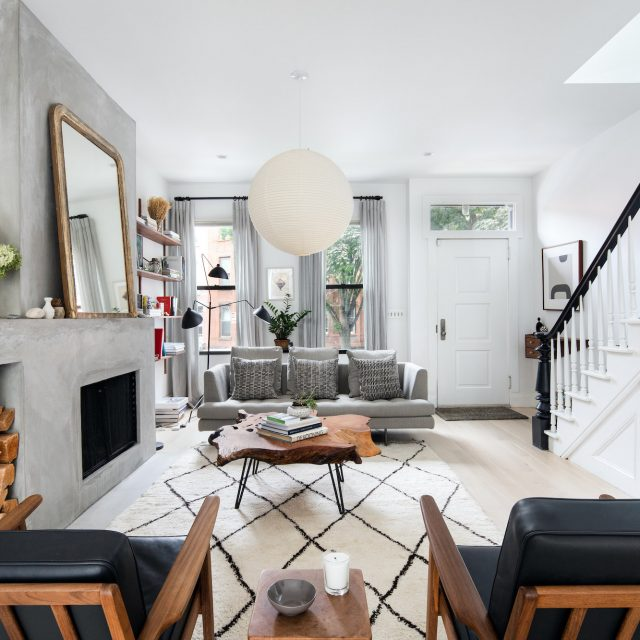 $2.6M Park Slope townhouse is family-friendly and full of mid-century inspo