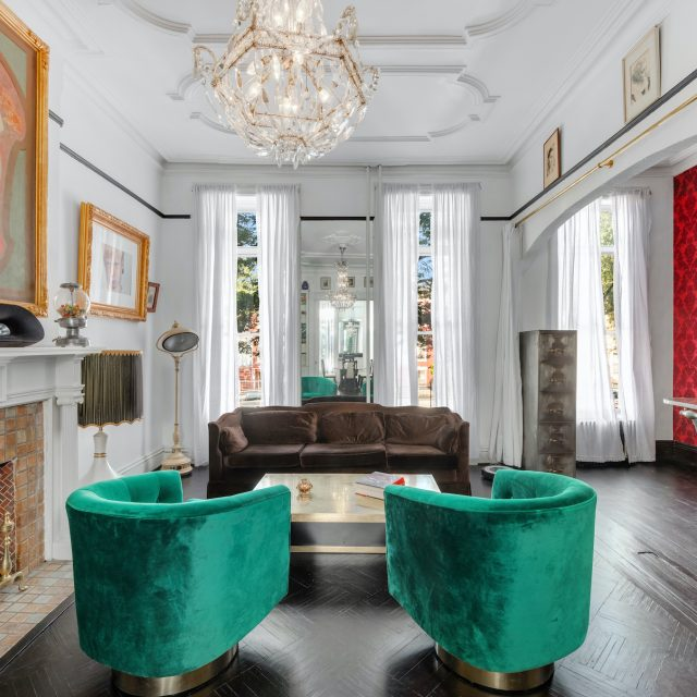 An eclectic vintage vibe runs through this $1.5M Bushwick townhouse