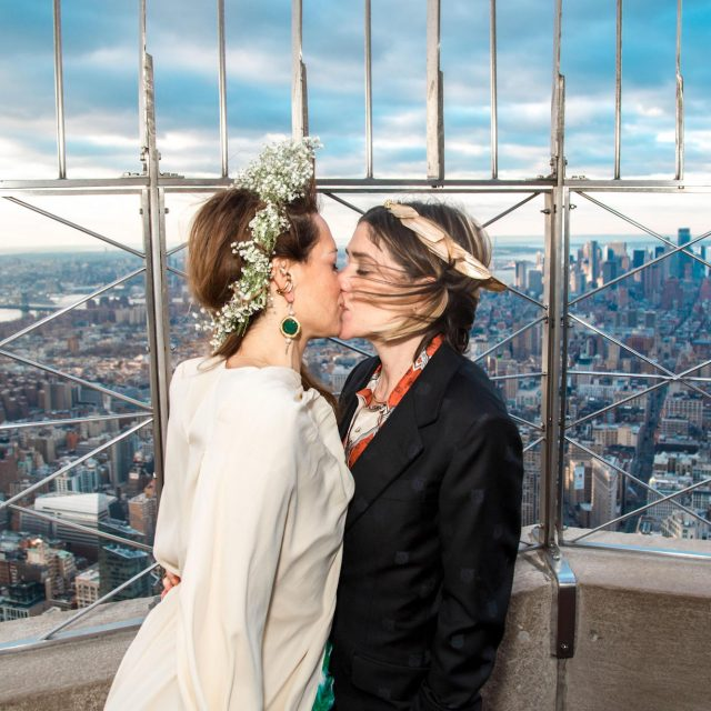 Empire State Building is treating couples to a free photoshoot at its iconic observatory