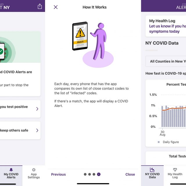 New York's new COVID Alert app will tell you if you've come in contact with a positive person