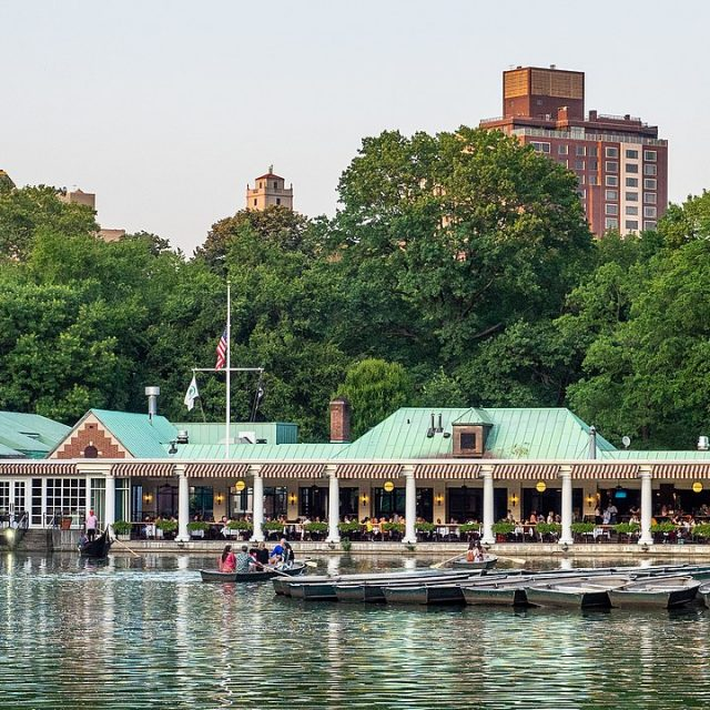The Boathouse in Central Park will reopen on March 29