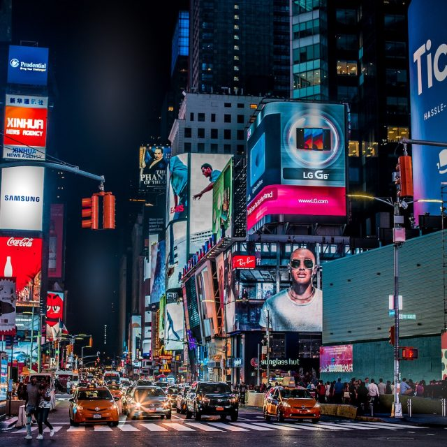 COVID vaccination site opens in Times Square for theater, film, and TV workers