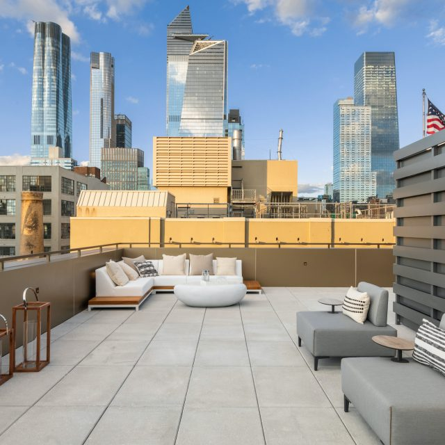 $16M Chelsea penthouse has 3 outdoor spaces with incredible Hudson Yards views