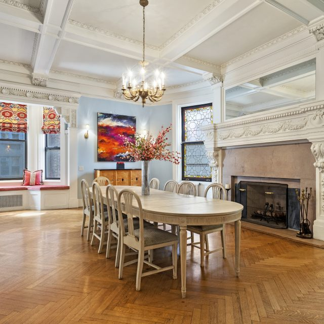 Classic Beaux-Arts details abound at this $3.2M Upper West Side three-bedroom