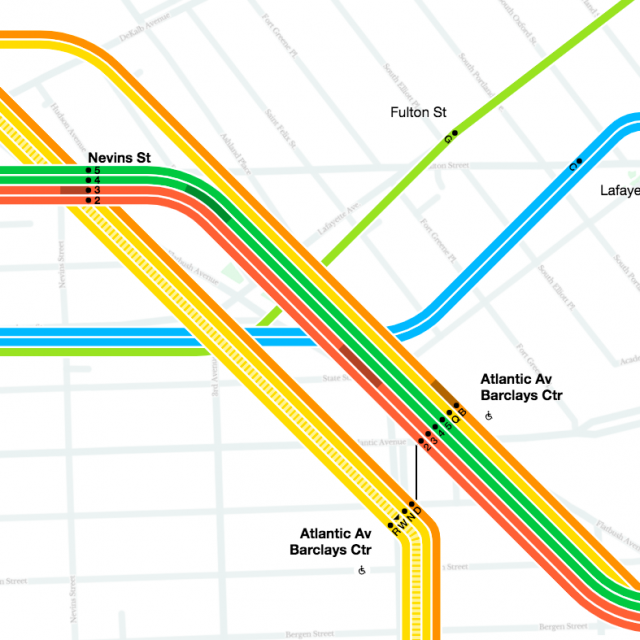 MTA launches first real-time digital subway map