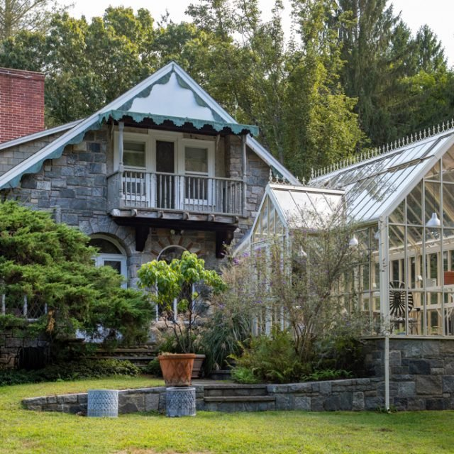 $1.5M Connecticut estate of 60 Minutes' Morley Safer has a stone cottage, writer's studio, and more