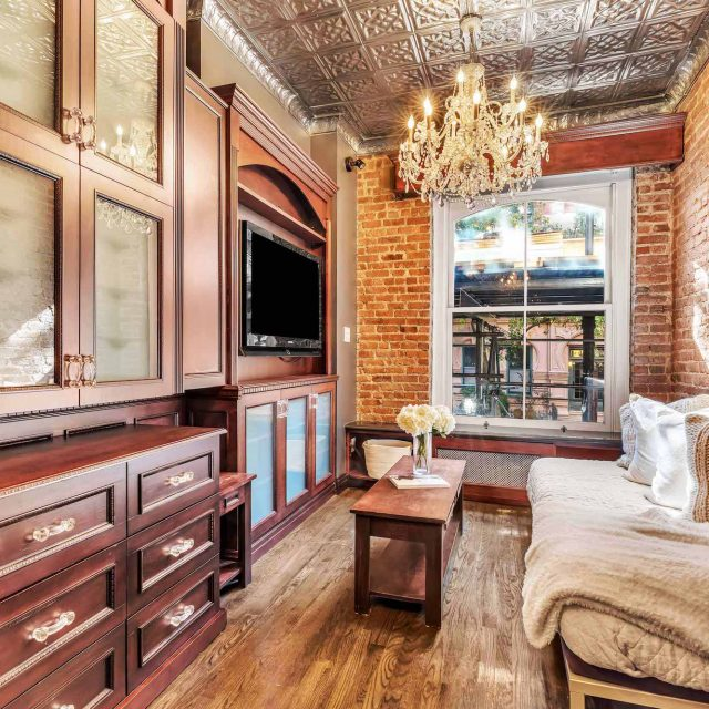 Tiny West Village studio is big on Victorian style for $525K