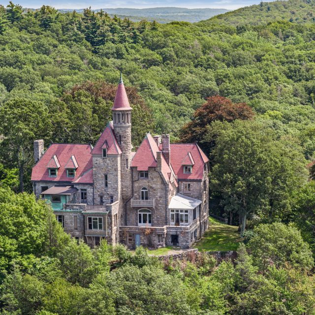Live in your very own 19th-century castle above the Hudson River for $3.5M