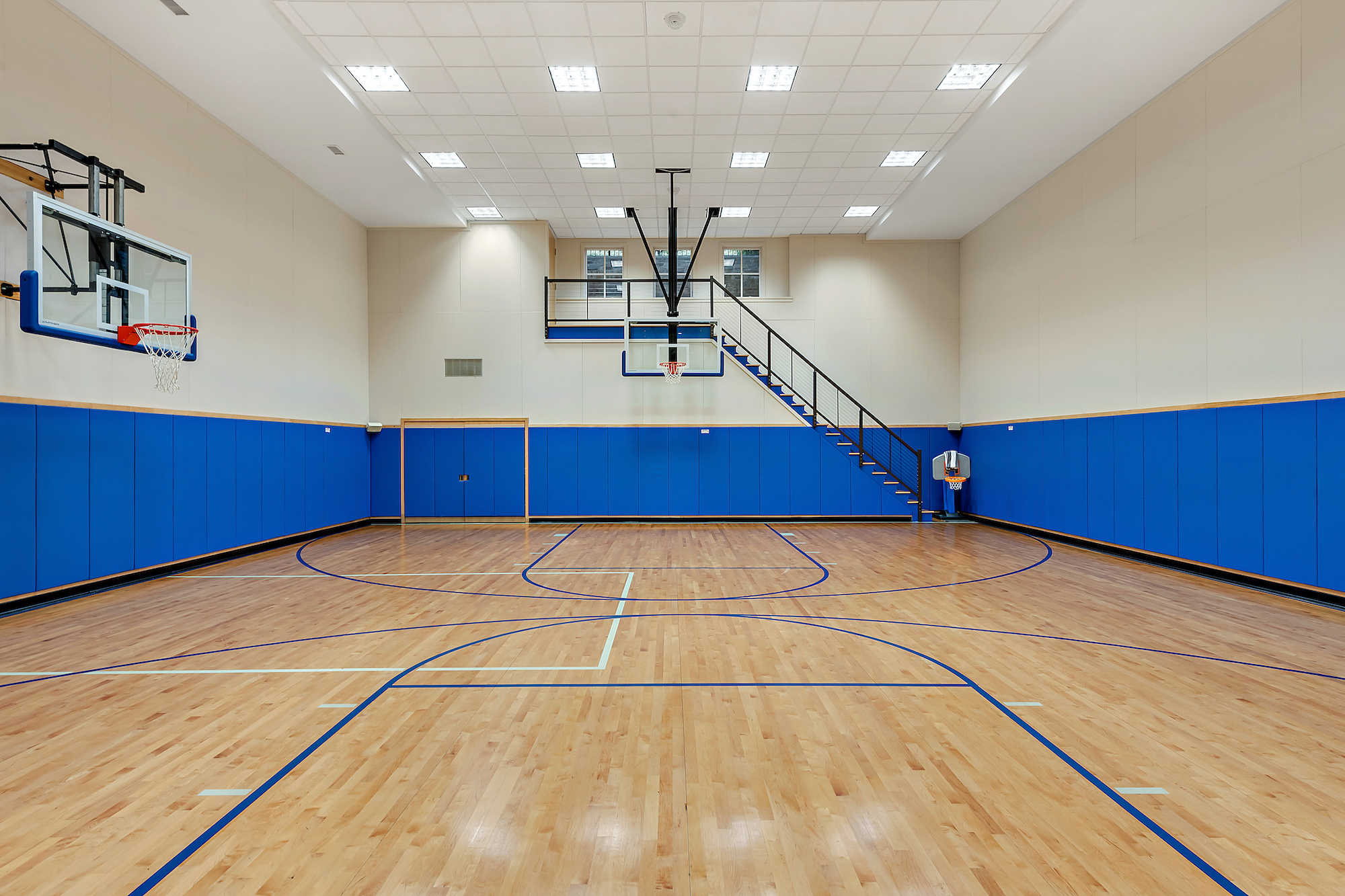 This 8 8m Westchester Colonial Estate Has Indoor And Outdoor Basketball Courts 6sqft