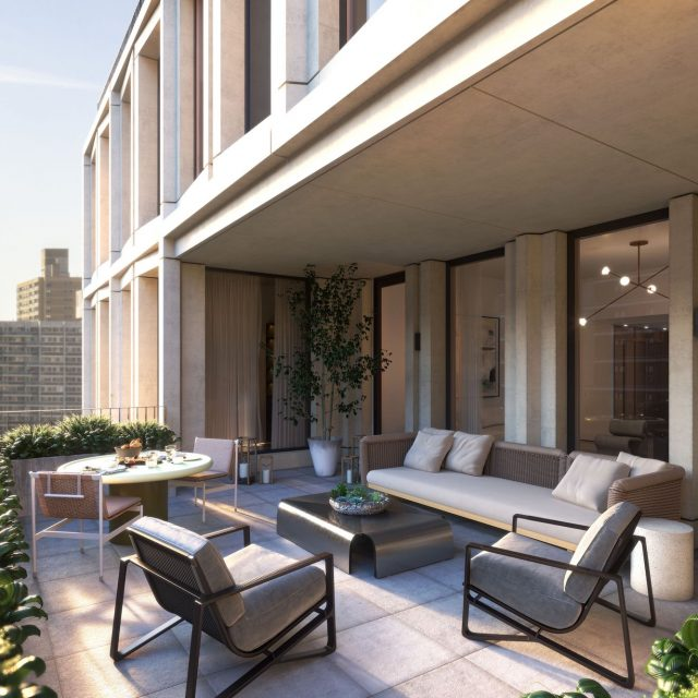 Upper West Side condo tower that replaced century-old synagogue reveals new looks