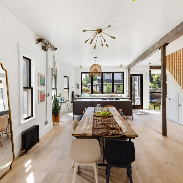 $3.2M Ditmas Park beauty is a modern and stylish take on the classic Victorian home