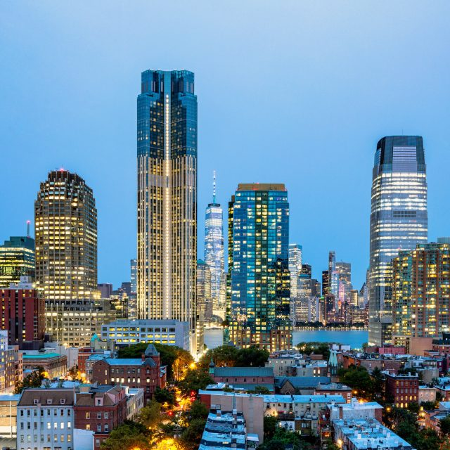 See inside New Jersey's tallest residential tower, 99 Hudson