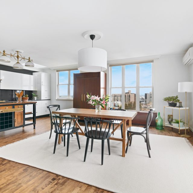 $1.9M Park Slope penthouse is shiny and new with skyline views