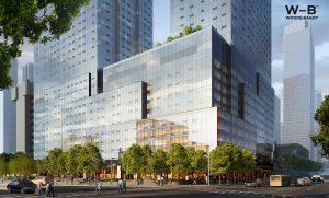 One Journal Square, Jersey City, Kushner Companies, Woods Bagot