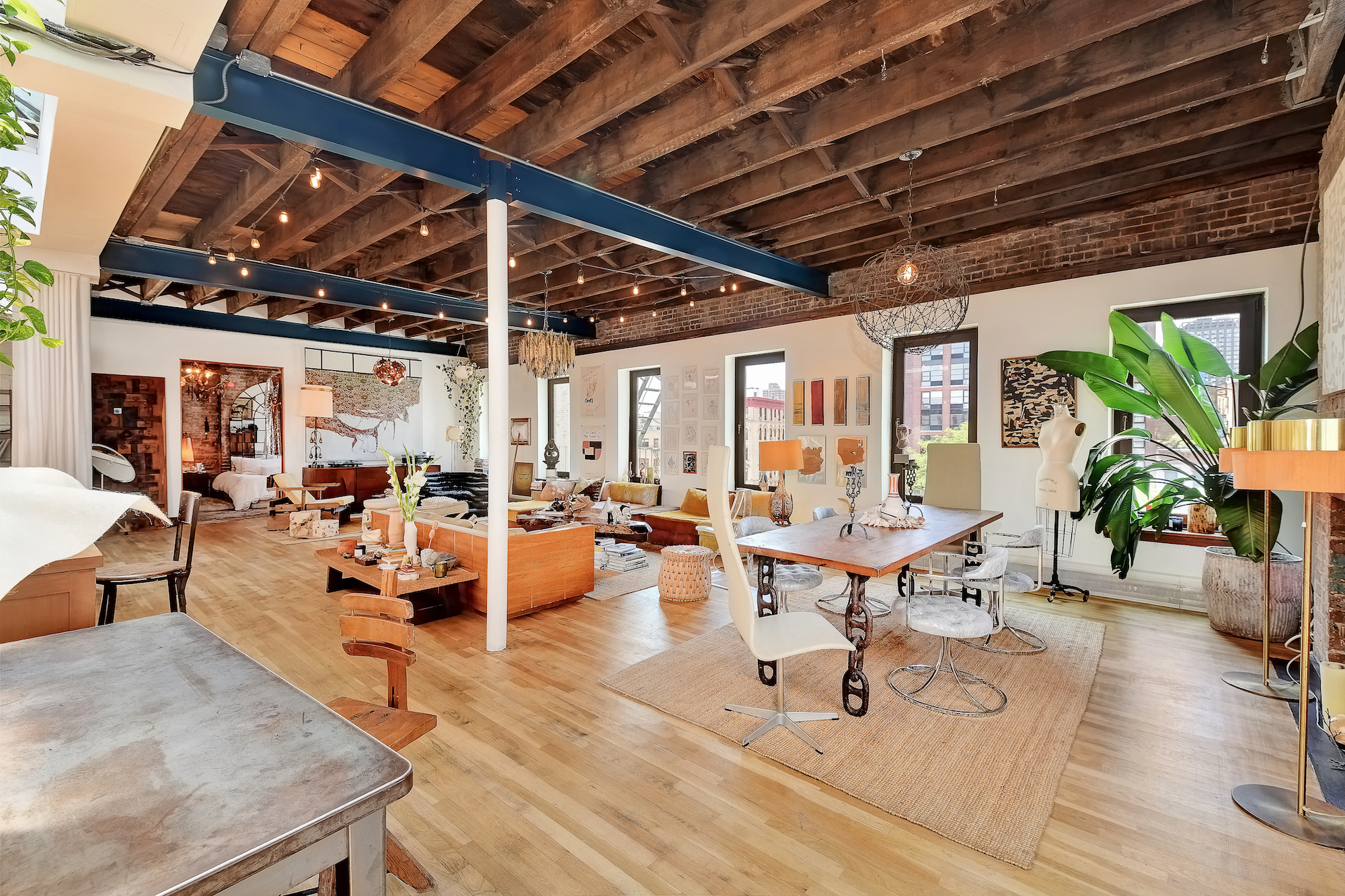 Model Erin Wasson Puts Her Fashionable Alphabet City Loft On The Market For 2 65m 6sqft