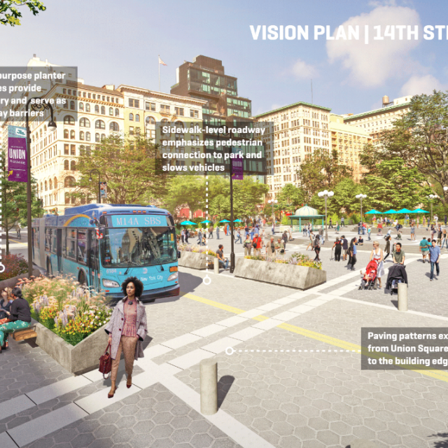 $100M proposal aims to turn Union Square into NYC's 'most accessible' space