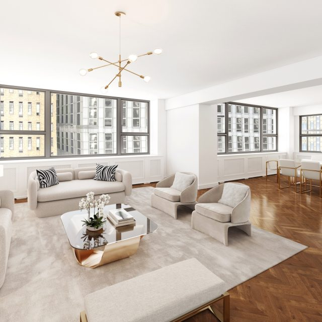 Joan Collins' Midtown pied-a-terre with 16 closets lists for $2.1M
