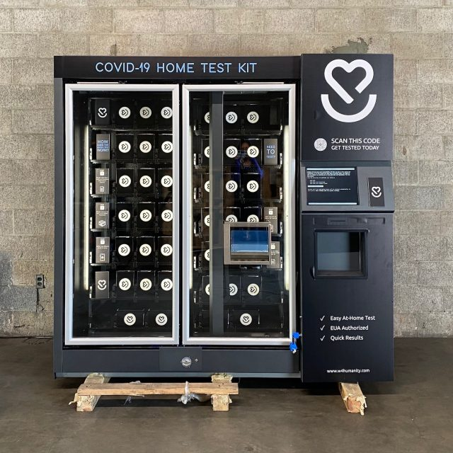 Vending machines selling at-home COVID tests are headed for NYC