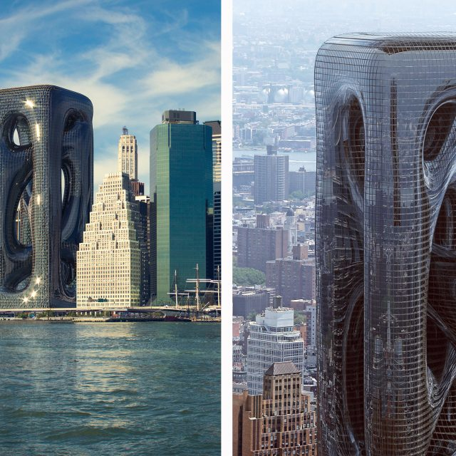 See the shiny, amorphous tower imagined for Lower Manhattan