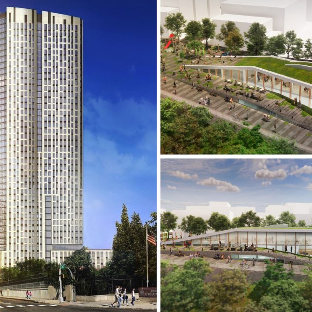 42-story Jersey City tower will have public park, community center, and 900 rental units