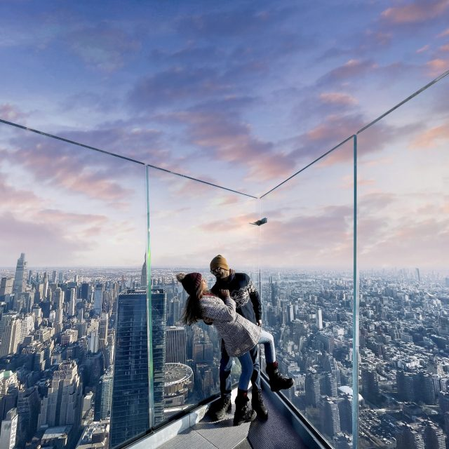 This Valentine's Day, watch the sunrise from 1,131 feet above NYC at Edge