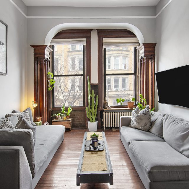 Asking $595K, this petite Upper West Side one-bedroom is big on pre-war charm